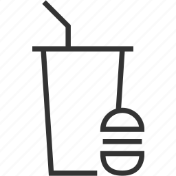 coffee, drink, fastfood, food, hamburger, kitchen icon