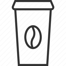 coffee, cup, drink, fastfood, food, kitchen icon