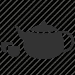 beverage, chinese tea, drink, hot tea, pot, tea, teapot icon