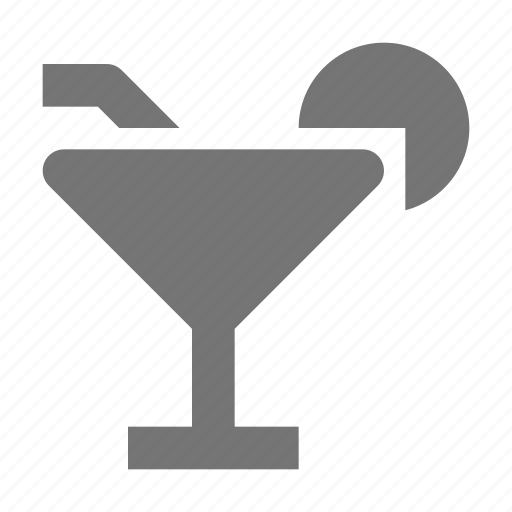 beverage, cocktail, glass icon