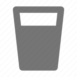 beverage, drink, glass, water icon