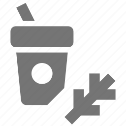 beverage, coffee, drink, organic, straw icon