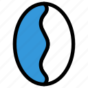 beans, coffee, coffee beans, drink icon