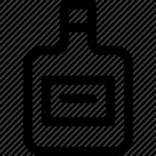 alcohol, beverage, bottle, brandy, drink, liquor, spirit icon