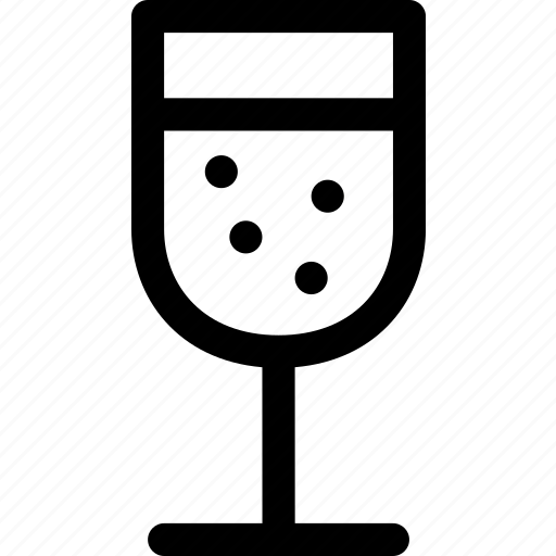 alcohol, beverage, champagne, cup, drink, glass, wine icon
