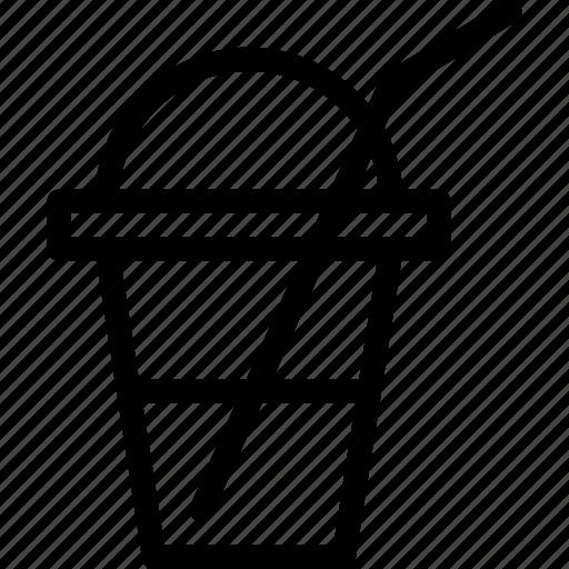 beverage, cold-beverage, flavored, frappe, milkshake, shake, thick-shake icon