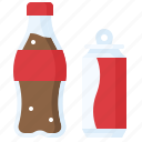beverage, bottle, can, carbonated, cola, drinks, soft drink icon
