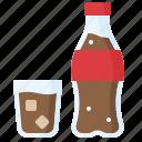 beverage, bottle, carbonated, cola, drinks, soft drink icon