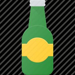 beer, bottle, drink, drinks icon
