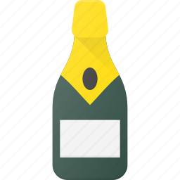 bottle, celebrate, champagne, drink, drinks icon
