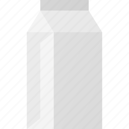 box, drink, drinks, milk icon