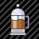 cafe, caffeine, coffeemaker, drink, machine icon
