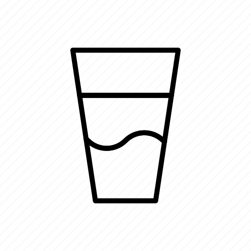 cup, drink, drinks, glass, milk icon