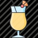alcohol, bar, cocktail, colada, pina icon