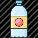 bottle, drink, mineral, water