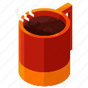 coffee, drink, hot, cocoa, mug, beverage icon