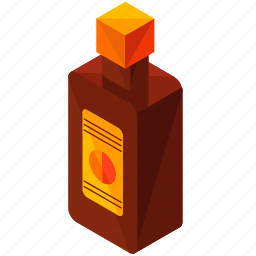 alcohol, beverage, bottle, cognac, drink icon