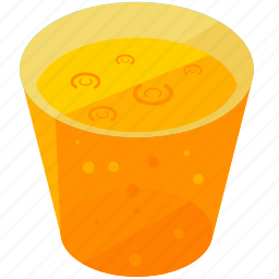 beverage, drink, glass, juice, thirst icon