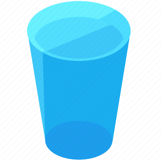 beverage, drink, glass, thirst, water icon