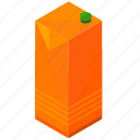 beverage, carton, drink, healthy, juice icon