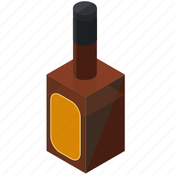 alcohol, beverage, bottle, drink, whiskey icon