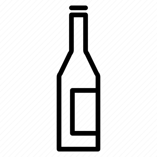 bottle, drinks, red, white, wine icon