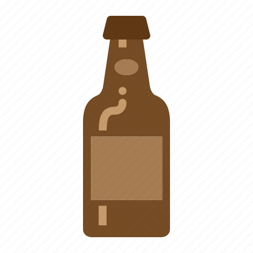 beer, bottle, cold, drinks icon