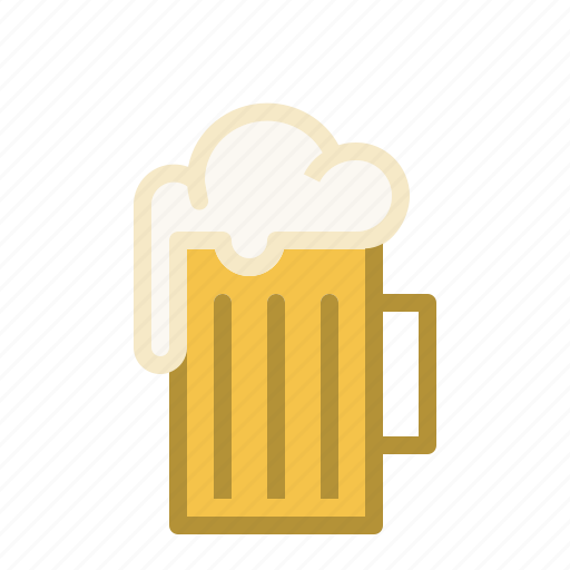 beer, drink, froth, mug icon
