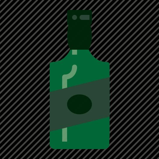 alcohol, bottle, gin, whiskey icon