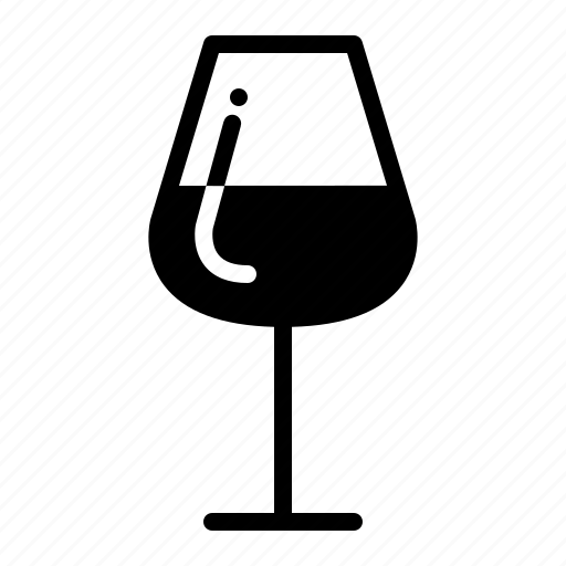 beverage, drinks, glass, wine icon