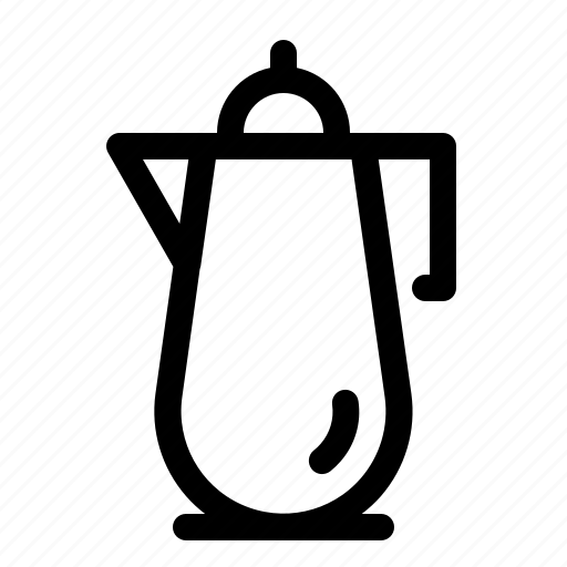 beverages, coffee, drink, pot icon