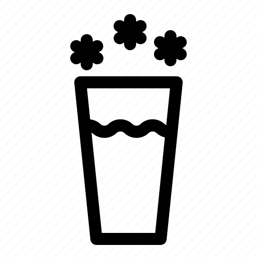 beverages, cold, drink, fresh, water icon