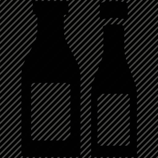 alcohol, alcoholic bottles, alcoholic drink, bottles, drink icon