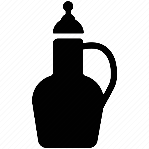 bottle, ewer, flask, jail, jar, jug, pot icon