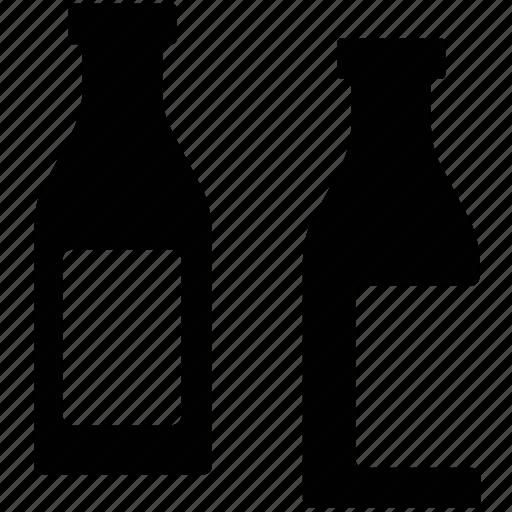alcohol, alcoholic bottles, alcoholic drink, beverage, bottles, drink icon