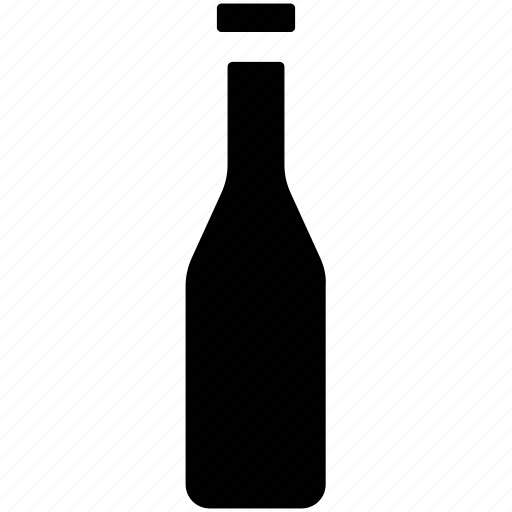 alcohol, alcoholic beverage, alcoholic drink, corked bottle, drink icon
