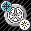 car, tires, seasonal, automobile