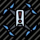 alert, drone, warning