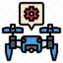 control, drone, programs, setting, smartphone