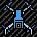camera, drone, electronics, fly, transport