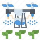 agriculture, drone, farming, robot, technology icon