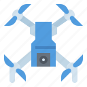 camera, drone, electronics, fly, transport icon