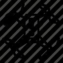 alert, drone, warning icon