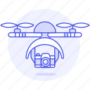 1, aerial, aircraft, camera, drone, uav, unmanned, vehicle icon