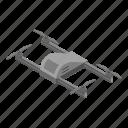 cartoon, drone, grey, isometric, logo, silhouette, technology