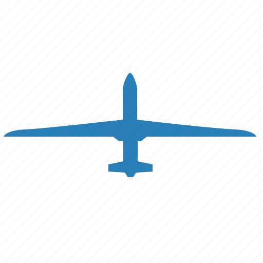 air, airbus, blue, drone, fly, object, technics icon