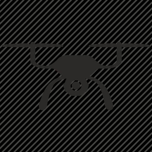air, compact, drone, robot icon