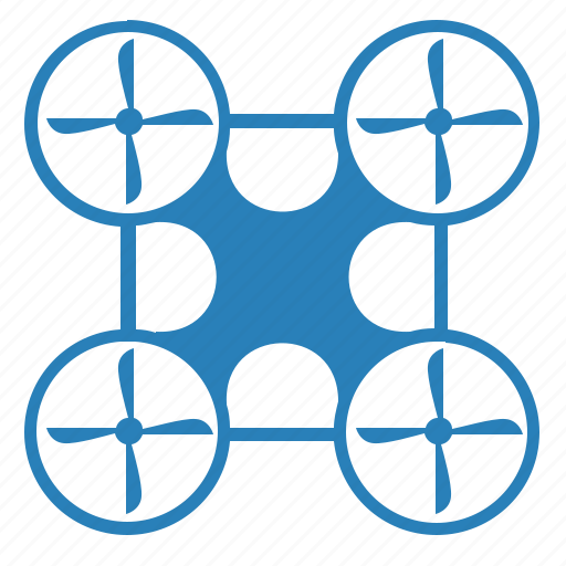 air, blue, device, drone, fly, home icon