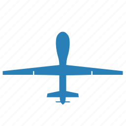 air, airbus, blue, drone, fly, monitoring icon