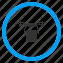 aircraft, airdrone, cargo drone, multicopter, nanocopter, quadcopter, radio control uav icon